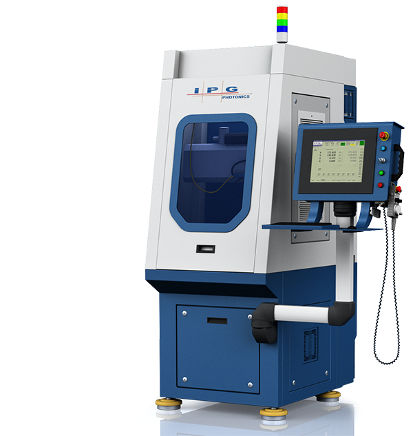 compact multi-axis laser welding, cutting, and drilling machine