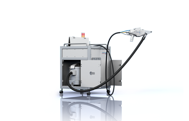 hand-held laser cleaning machine   paint & rust removal