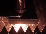 carbon steel cutting with fiber laser