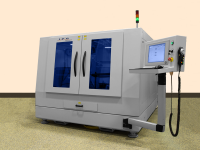 IPG's Lasercube - compact flatbed fiber laser cutting machine