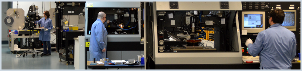 IPG's micromachining application lab