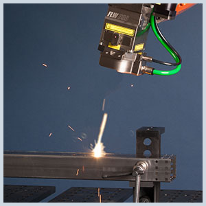 high powered laser metal welding