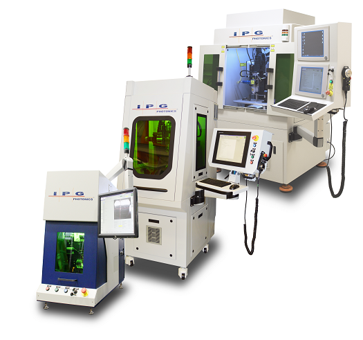 laser material processing with IPG's multi-axis workcell